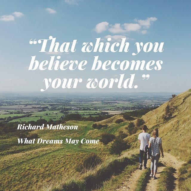 life and death in richard mathesons book what dreams may come Written by richard matheson, narrated by robertson dean download and keep this book for free with a 30 day trial.